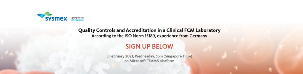Quality Controls and Accreditation in a Clinical FCM Laboratory